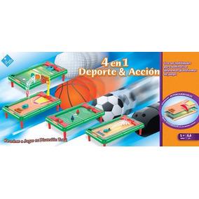 Juegos 4 En 1 Deportes Y Acción - El Duende Azul
