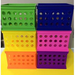 Cubo Plastico Box Canasto Plastico Apilable