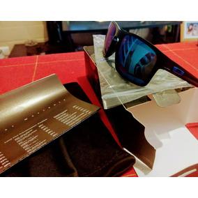 Lente Oaklay Mas Manuales Y Caja Color Azul Uv 400