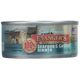 Evanger De Súper Premium Seafood & Caviar Cena Comida Para G