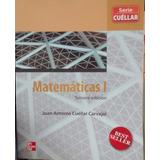 Matematicas 1 Bach. General (2 Pzas Por Tan Solo $200.00)