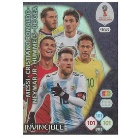 Copa 2018 Card Invincible Adrenalyn Especial 468