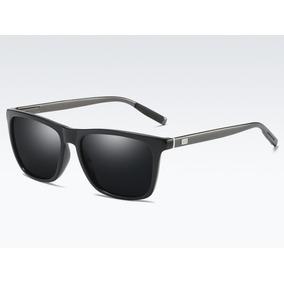 Lentes De Sol 100% Aluminio Tr90 Gafas Polarizados Antirefle 01163fd759