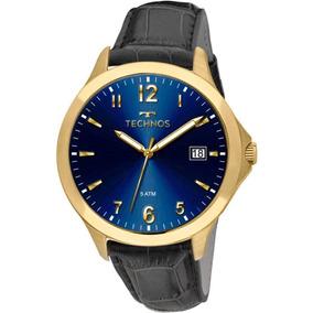 695363e64501e Relogio Technos Legacy Dourado E Azul - Relógio Masculino no Mercado ...