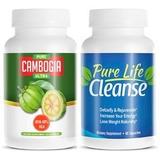 Pure Cambogia Ultra Garcinia + Pure Life Cleanse Original
