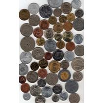 Interesante Lote De 200 Monedas Extranjeras Diferentes!!!!!