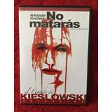 No Matarás Krzysztof Kieslowski Dvd
