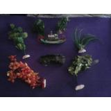 Adornos Y Plantas Decorativas Para Acuarios