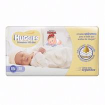 Fralda Huggies Soft Touch Mônica Rn Kit Com 152 Fraldas