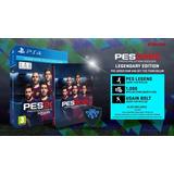 Original Fisico Pes 2018 Pro Evolution Ed Legendaria Ps4