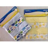 Toallitas Multiusos Para Bebe En Algodon Poliester 2 Pack X4