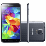 Smartphone Samsung G900m Galaxy S5 Preto Original | Vitrine