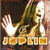 Cd - Janis Joplin In Concert