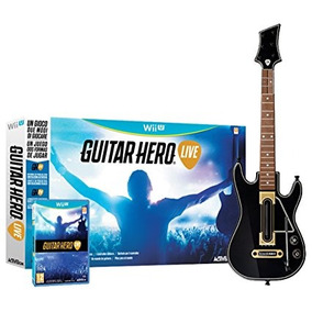 Guitar Hero Live Wii U Nuevo Sellado En Caja Con Guitarra