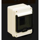 Caja Exterior 3 Bocas P/ Termica Con Puerta Estanca Roker P3