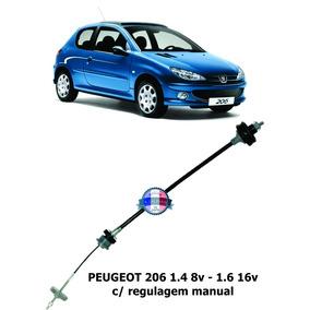 Cabo De Embreagem Peugeot 206 1.4 8v -1.6 16v -reg Manual