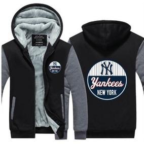 Blusa Jaqueta Moleton New York Yankees Ny Baseball