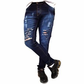 Calça Masculina Lycra Skinny Jeans Sarja Promoção De Fabrica