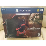 Sony Ps4 Pro 4k Hdr Edicion Especial Monster Hunter World