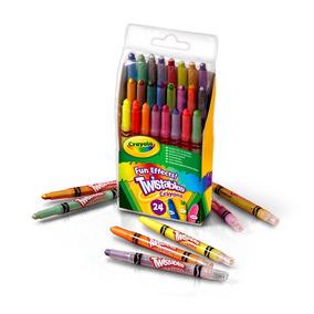 Giz De Cera Twistables Efeitos Especiais 24 Cores Crayola