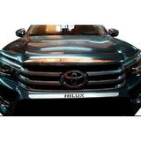 Deflector Capot Cromado Toyota Hilux 2016 2017 Importado