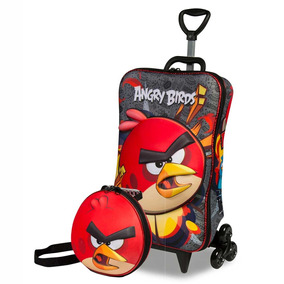 Kit Angry Birds Red Em Eva Em 3d Azul - Maxtoy