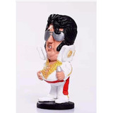 Mini Élvis Presley Gordinho - Estatueta Em Resina