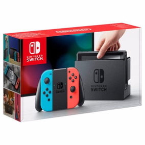 Nintendo Switch 32gb - Neon + Zelda + Mario Odyssey Em 12x