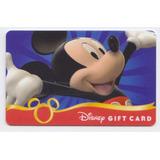 Estados Unidos Gift Card Tarjeta De Disney