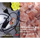 20 Kits Cables Negros 15w 10 Kg Piedras De Sal Ch/media2