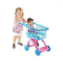 Carrinho De Compras Market Supermercado Baby Alive Lider