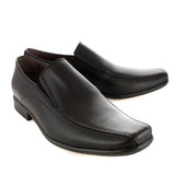 Zapatos De Vestir De Cuero Negro De Hombre Batistella