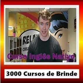Curso Inglês Nativo Lançamento 2017 + 3000 Cursos De Brinde