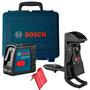 Nivel Láser De Líneas Bosch Gll 2-15 +soporte Bm3 Envío Grat