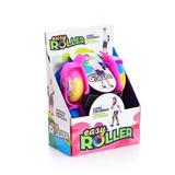 Easy Roller Rosa Rodas De Gel E Com Luzes Led.