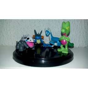 Pokemon Miniaturas Kit Com 10 (5 Cm) - Original/novo