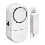 2 Alarmes Sensor Magnético S/fio Portas Janelas Armários