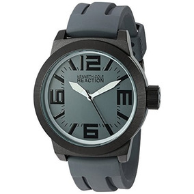 Kenneth Cole Reaction Mens Rk1233 Triple Gray White Details