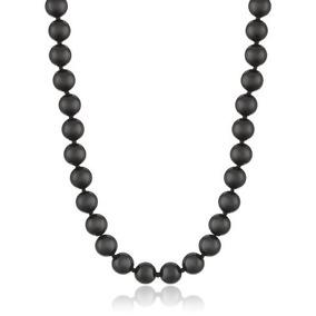 0358baec40c0 Collar De Perlas Negras Onix - Cadenas y Collares en Mercado Libre ...