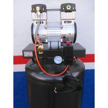 Compresor 2.5 Hp Silencioso Libre De Aceite 200 Litros