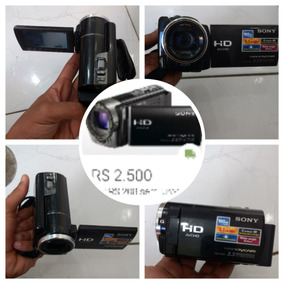Filmadora Digital Sony Hdr-xr160 160gb Full Hd Touchscreen