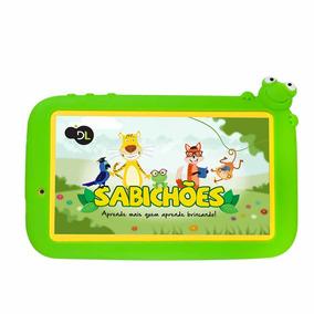 Tablet Dl Infantil Sabichões - Tela De 7 - Tx386bvd