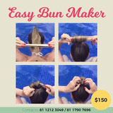 Bun Maker- Peinado Facil Color: Negro