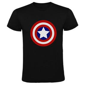 Remeras Capitan America Marvel Comic Captain Envio Gratis