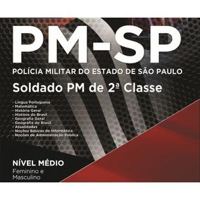 Apostila Pm Sp 2017 , Digital, Atualizada