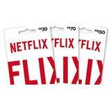 Netflix 1 Ano Pré Pago