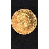 Antigua Moneda Oro Austro Hungara 1915 Francisco I Impecable