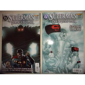 Superman Dia Do Juizo Final 1 E 2 Completa Panini 2003 Exce