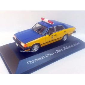 Miniatura Opala Polícia Federal Viatura 1/43 Serviço Brasil