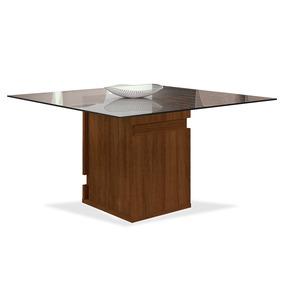 Mesa De Jantar Para 8 Lugares, (1,40 X 1,40), Castanho Bx, T